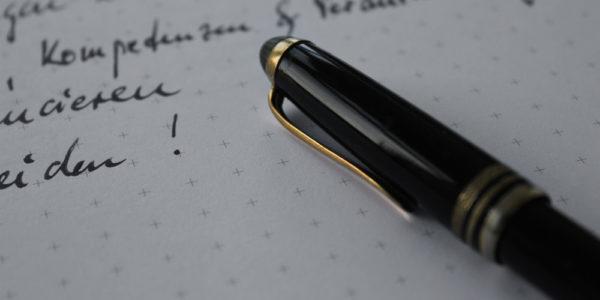 Schrift und Fueller